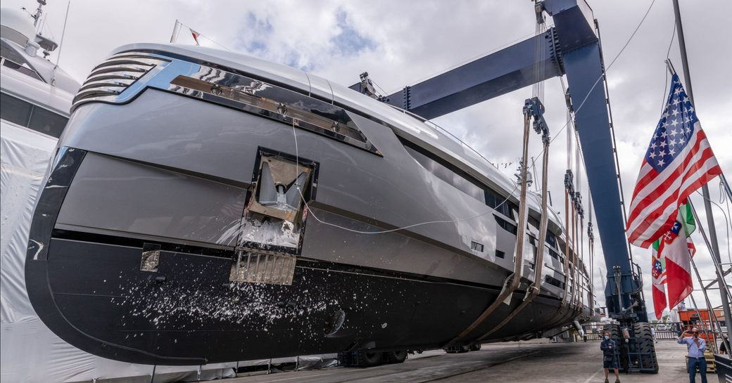Rossinavi launches 49m 'Project Vector' as superyacht EIV photo 1