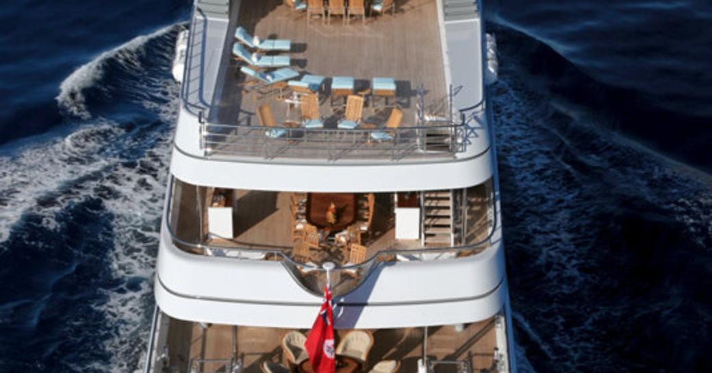 Elegant 65m M/Y TRIDENT finally joins the charter fleet photo 1