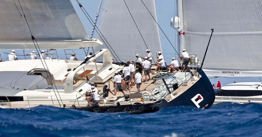 Charter Yachts Win Big At The Loro Piana Caribbean Superyacht Regatta photo 2