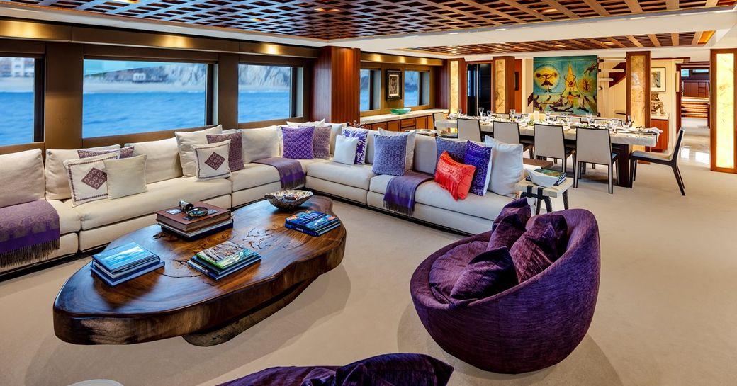 main salon on trinity yachts motor yacht tsumat