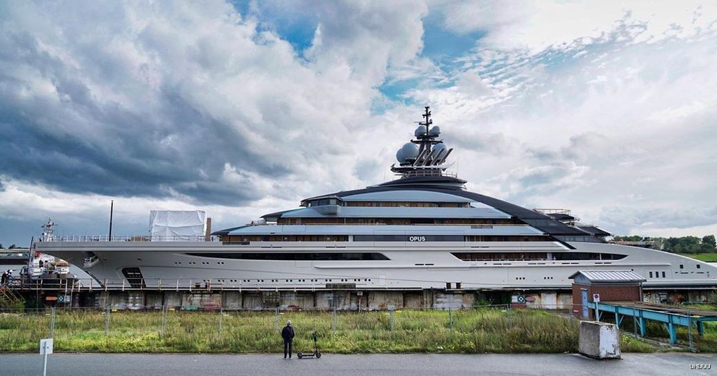 NORD yacht, also known as OPUS and Project Redwood