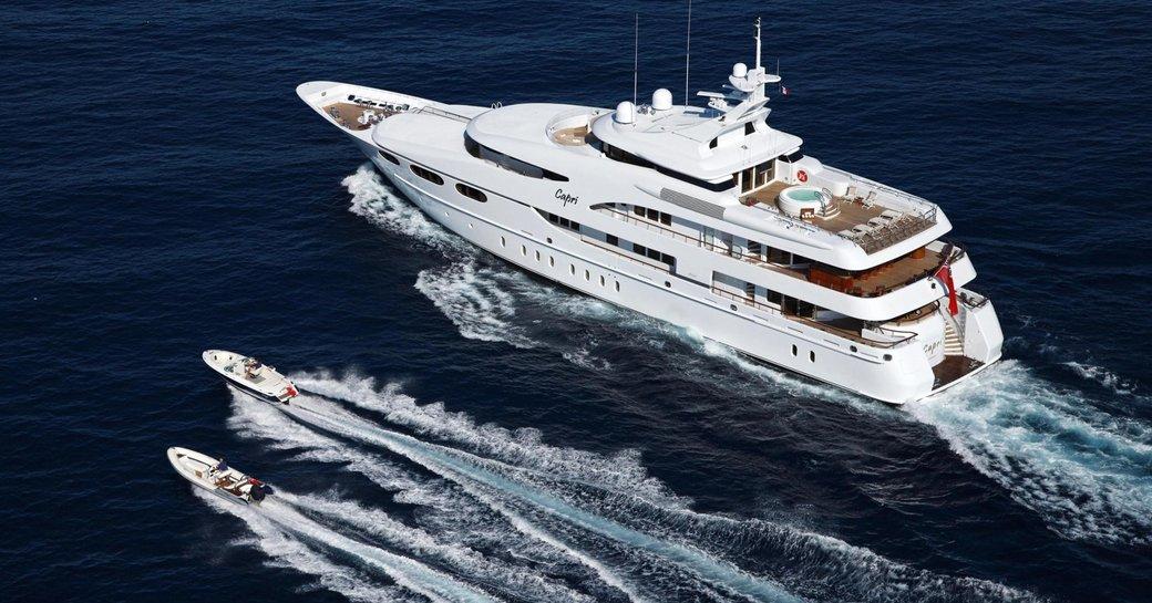 Lurssen Charter Yacht 'Capri I' Confirmed For Mediterranean Yacht Show 2017 photo 5