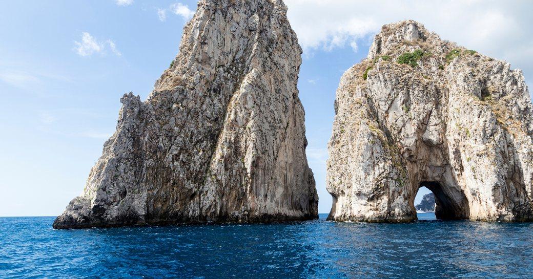 Faraglioni rock stacks, Capri