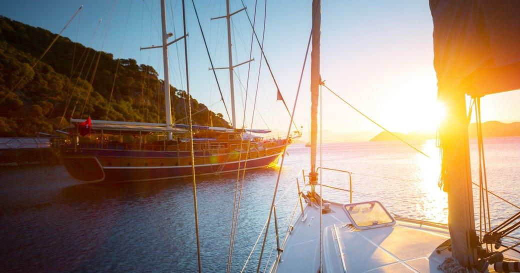 Gulet yachts in Turkey