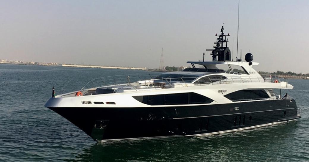 Gulf Craft superyacht 'Ghost II'