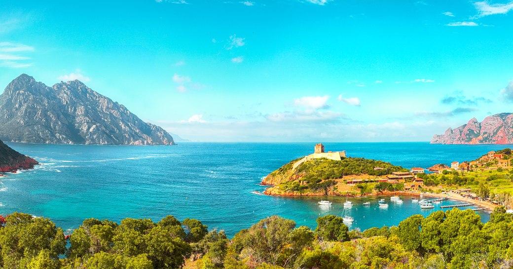 Girolata bay, Corsica