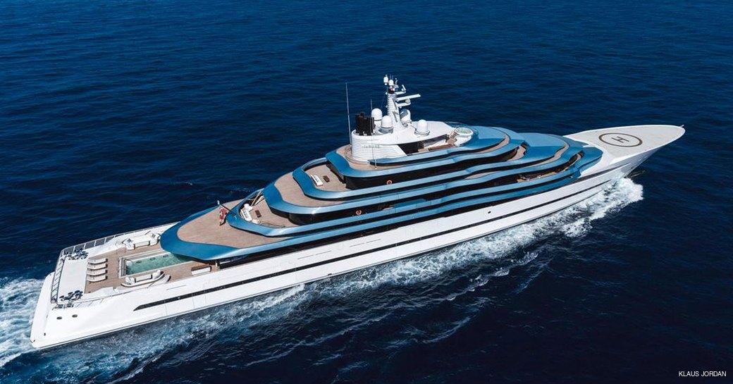 luxury yacht kaos, formerly jubilee