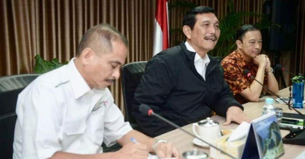 Indonesian Tourism Minister meets with Coordinating Ministry of Maritime Affairs and Head of the Investment Coordinating Board (BKPM) to redue yacht tax