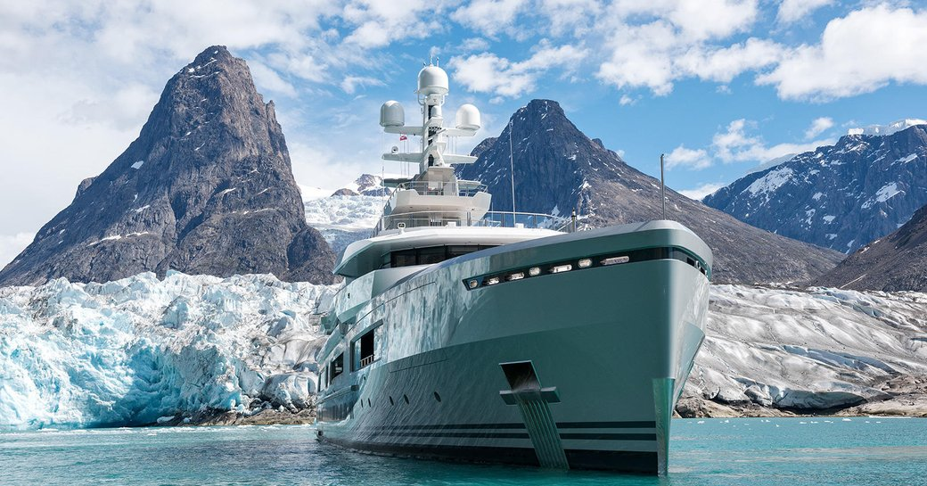 Superyacht CLOUDBREAK in the North Pole