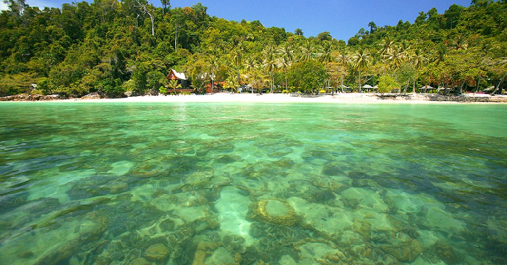 Thailand clear waters