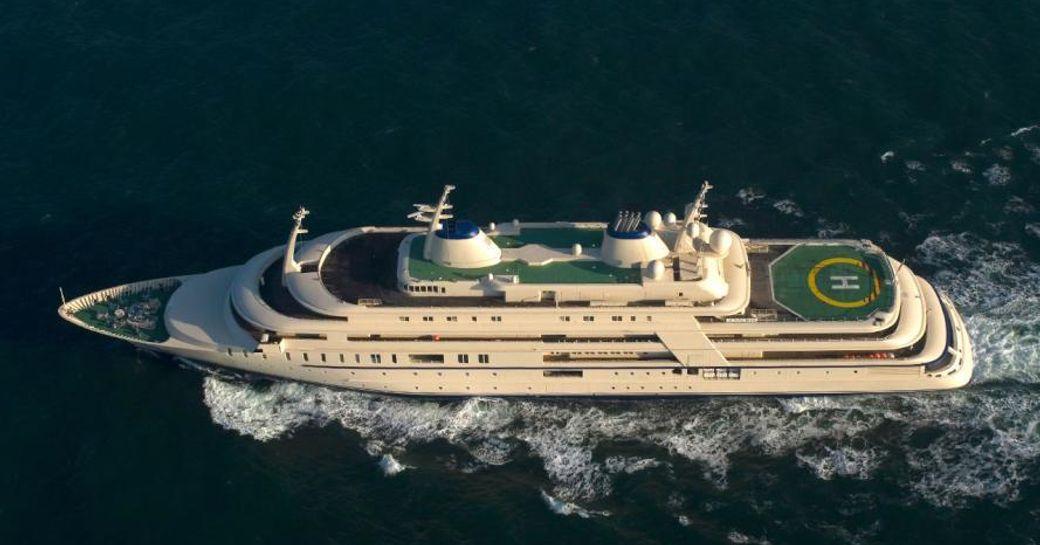 Meet the New World's Largest Yacht: Superyacht 'Fulk Al Salamah' photo 9