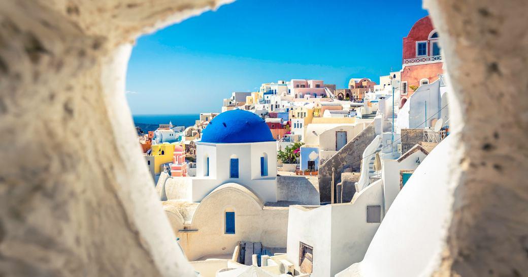 Greece, a lovely, popular yacht charter destination