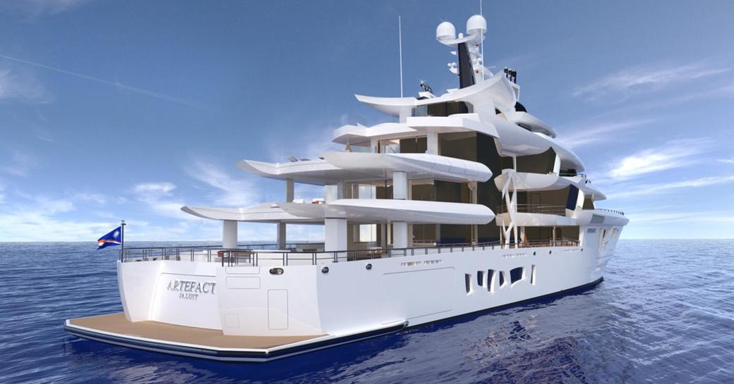 Nobiskrug unveils more details on 80m superyacht ARTEFACT at MYS 2018  photo 5