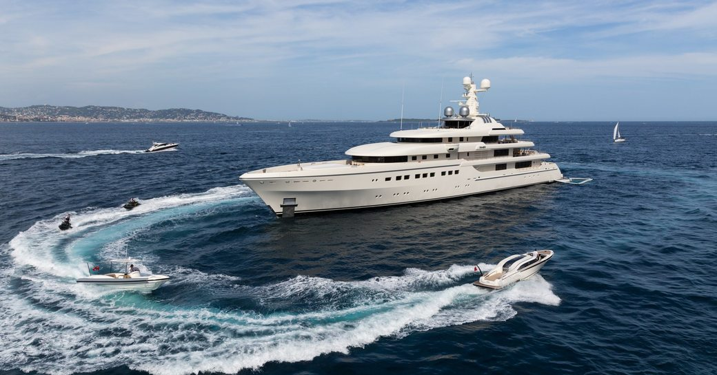 82m superyacht RoMea to charter in the Maldives this winter photo 1