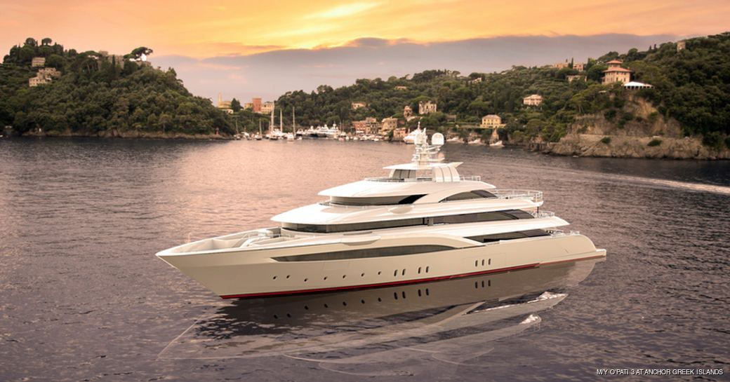 72m Superyacht O'Pari 3 Launched in Greece photo 4