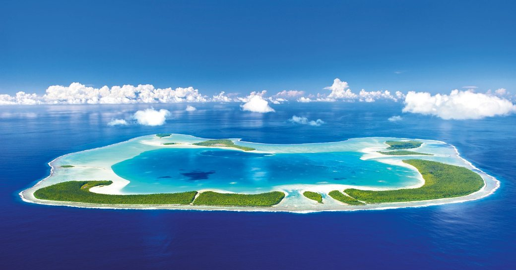 An island in the South Pacific