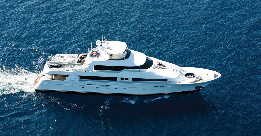 Superyacht 'Endless Summer' underway