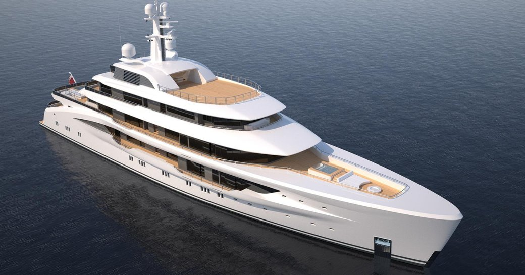 Launched: Largest fully-custom Amels  yacht hits the water photo 6