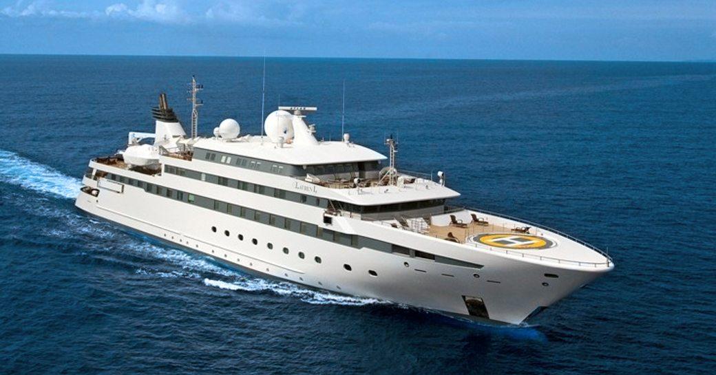 Lauren L motor yacht