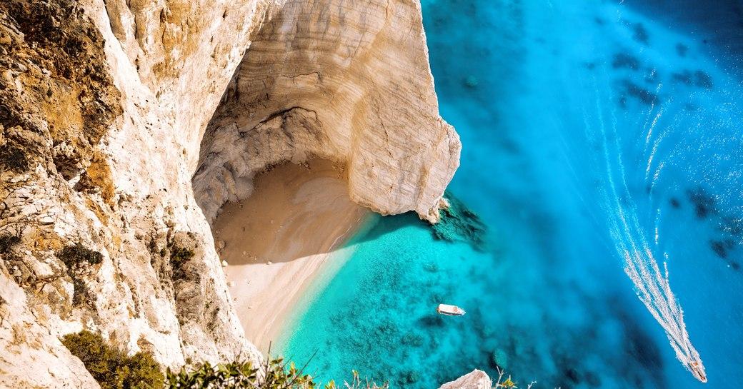 Quiet cove in Greece
