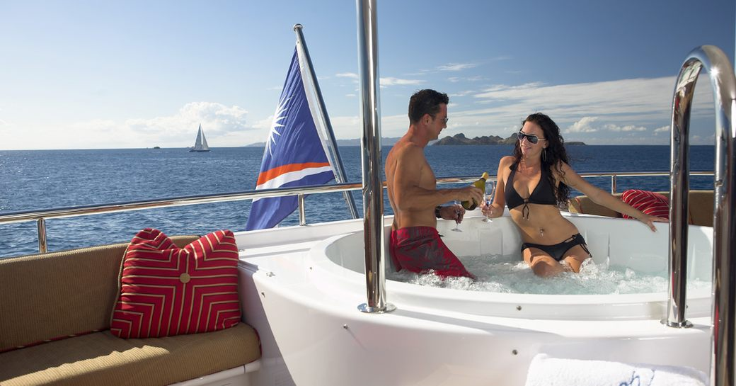 Superyacht 'Nicole Evelyn' available for New Year's Eve charter in the Bahamas photo 1