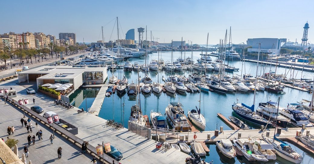 OneOcean Port Vell will host the MYBA Charter Show 2017