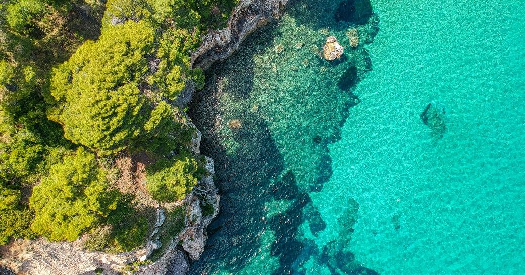 Aerial view of Alonissos