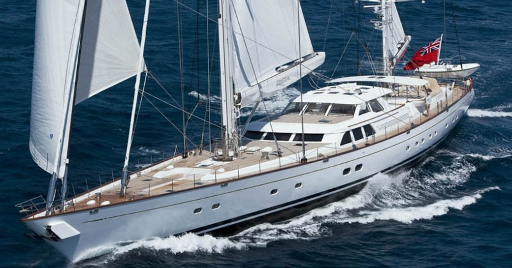 Sailing yacht ETHEREAL in the Palau Islands