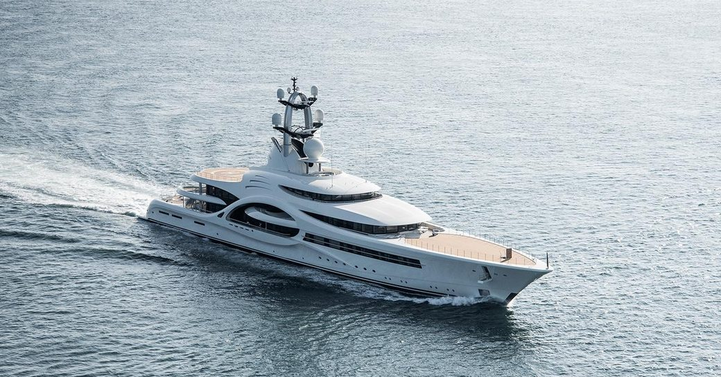 110m superyacht ANNA: the largest ever Feadship yacht delivered photo 1