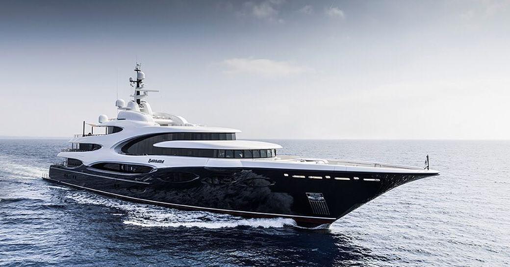 Charter yacht BARBARA at sea running shot