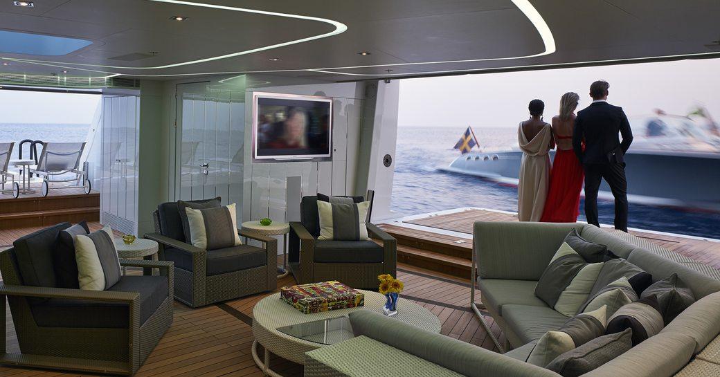 ILLUSION yacht beach club with sea terraces