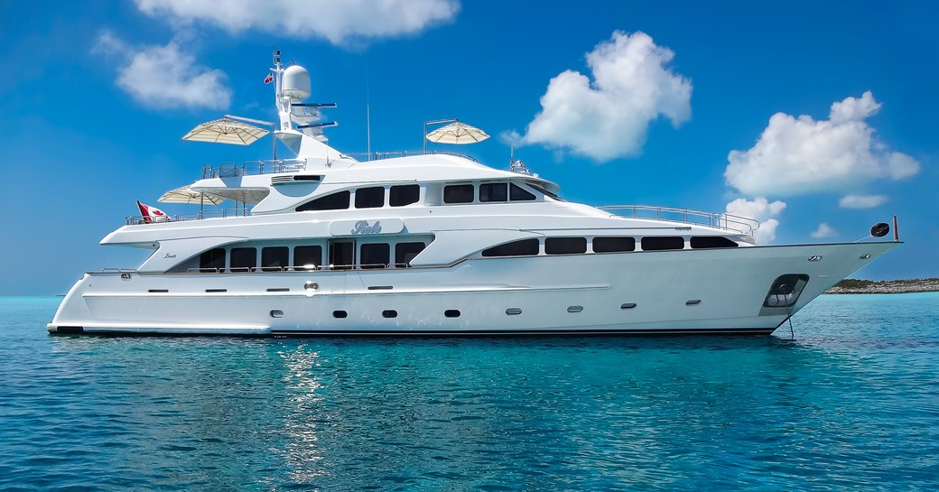 Benetti superyacht SIETE to charter in the Bahamas over the holidays photo 1