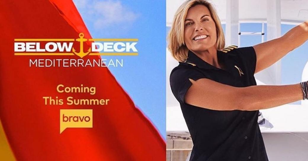 below deck med, captain sandy yawn and spanish flag