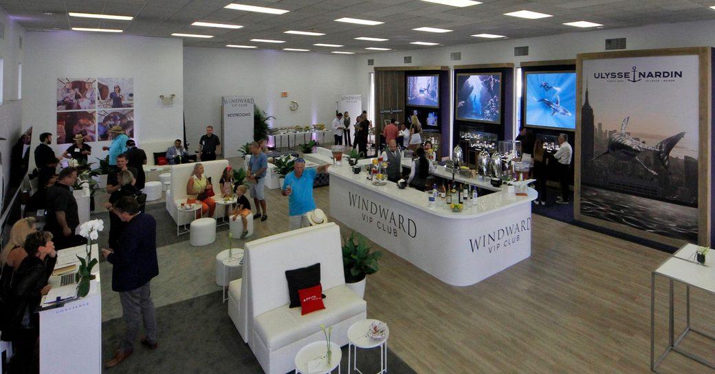 FLIBS windward VIP area
