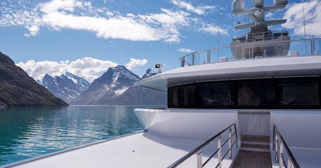 Yacht charters in Antarctica