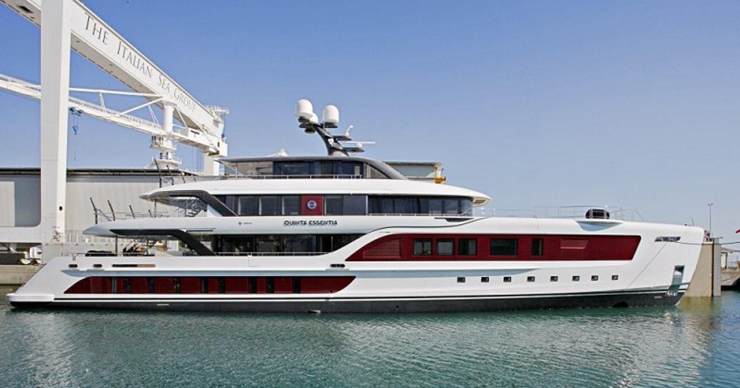 Admiral Yachts Launches Brand New 55m Hybrid Superyacht 'Quinta Essentia' photo 1