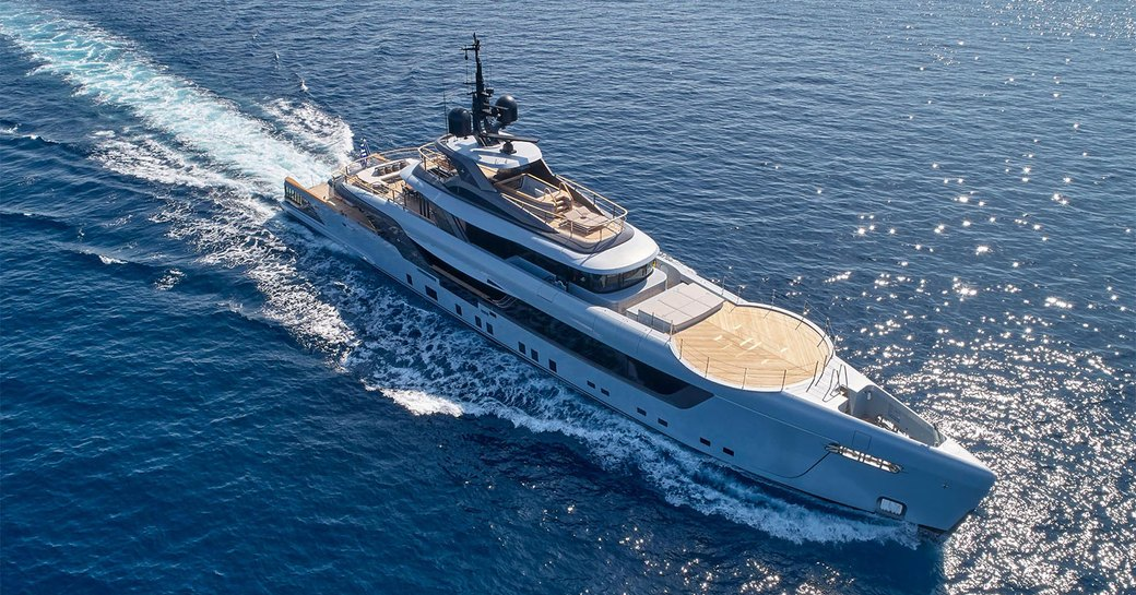 luxury yacht geco