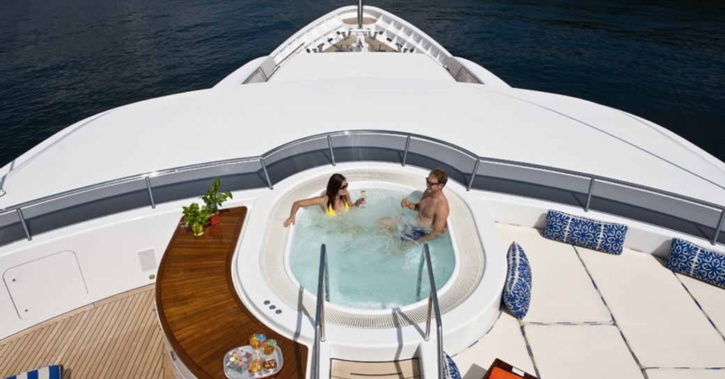 motor yacht 'Blue Moon' available for christmas charter in the Caribbean