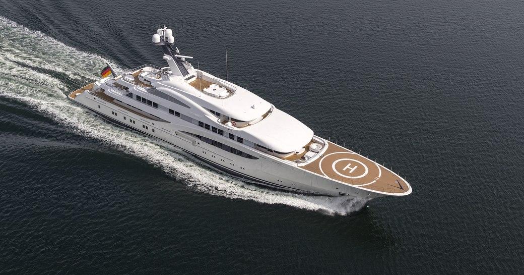 Lurssen Superyacht ARETI To Make World Debut At Monaco Yacht Show 2017 photo 1