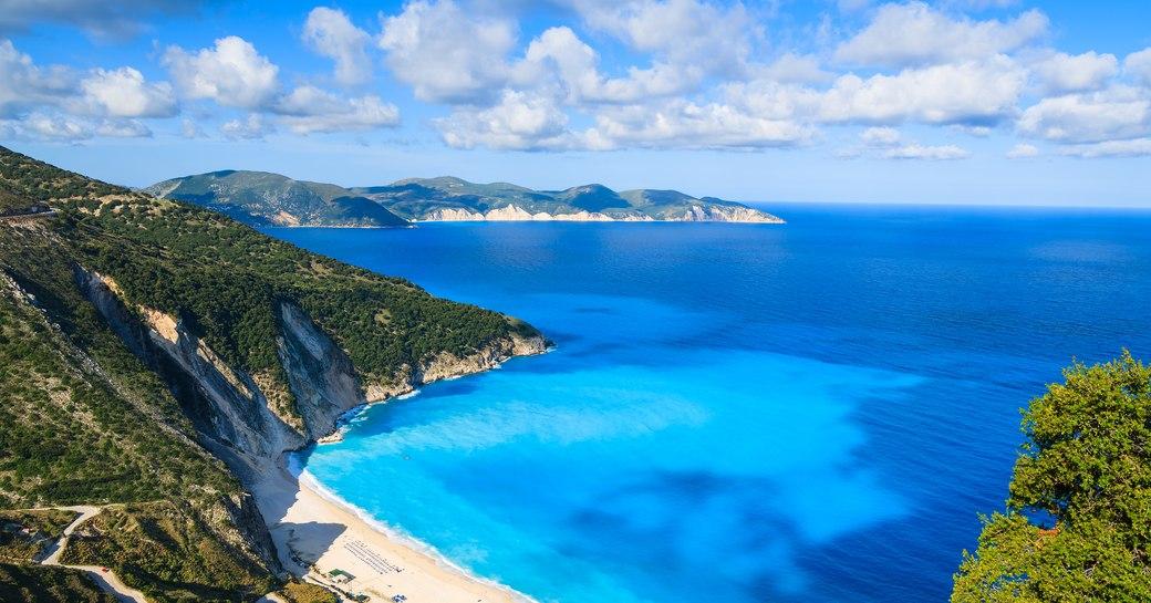 Greece Myrtos beach