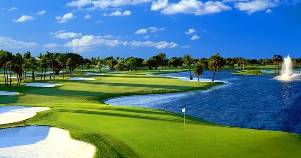 Fairway at Blue Mountain Golf Course