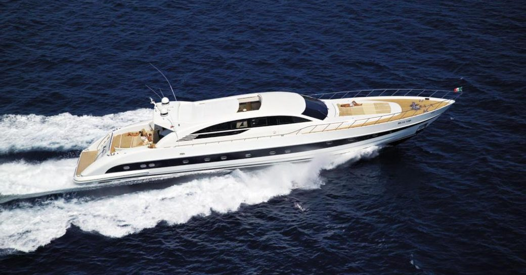 5 Luxury Yachts Open For Charter in the Greek Isles This Summer photo 2