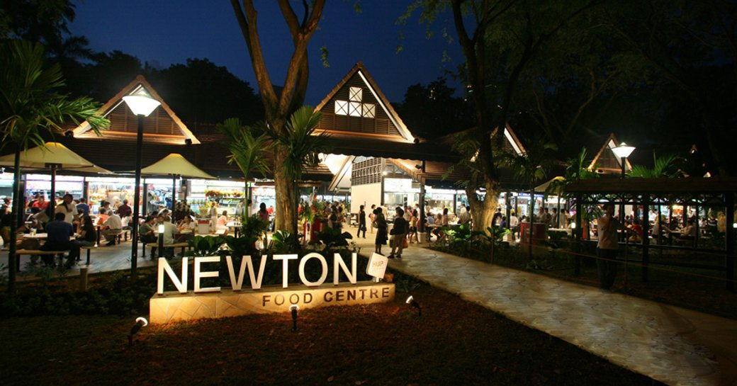 Newton Food Center in Singapore