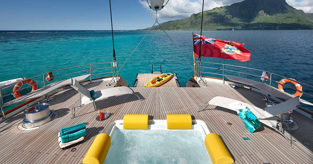 sailing yacht 'Mondango 3' available for new year's charter in st barts