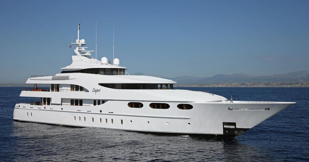 motor yacht Capri I heads to the Mediterranean Yacht Show 2017