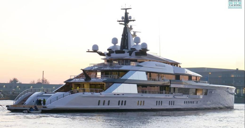 109m superyacht 'Bravo Eugenia' delivered by Oceanco photo 1