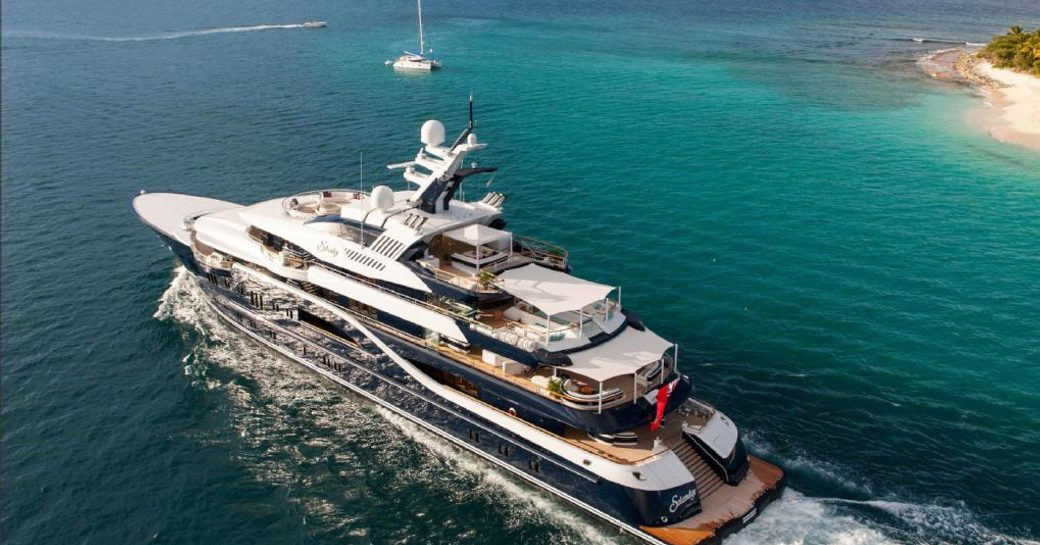 VIDEO: Superyacht SOLANDGE Featured On Major American News Network photo 1