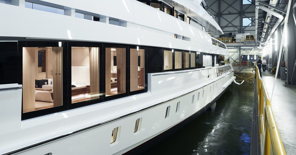 Heesen launches second hybrid yacht Project Electra photo 1