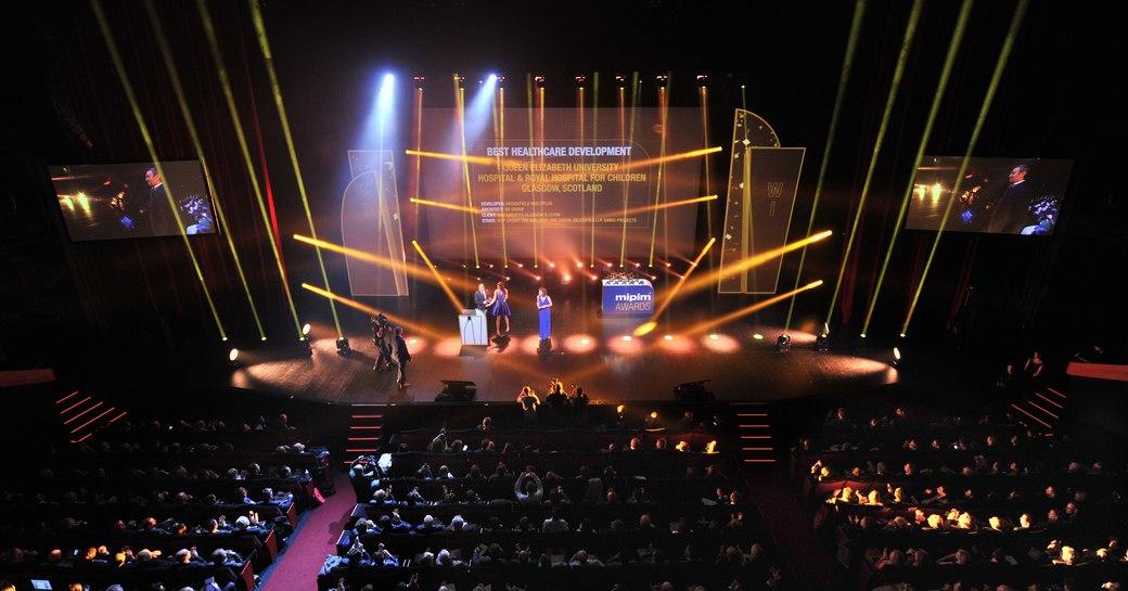 awards ceremony at MIPIM