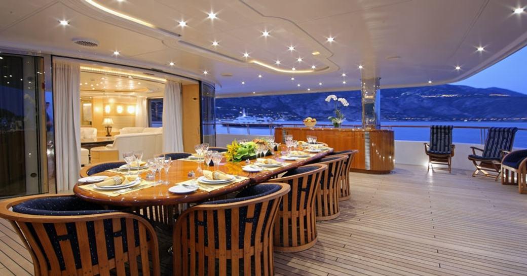 Lurssen Charter Yacht 'Capri I' Confirmed For Mediterranean Yacht Show 2017 photo 1